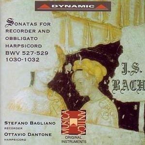 Ottavio Dantone  Bachs Instrumental Works  Discography